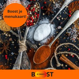 boost je menukaart! workshop 3 maart 2020 in Noordwijk